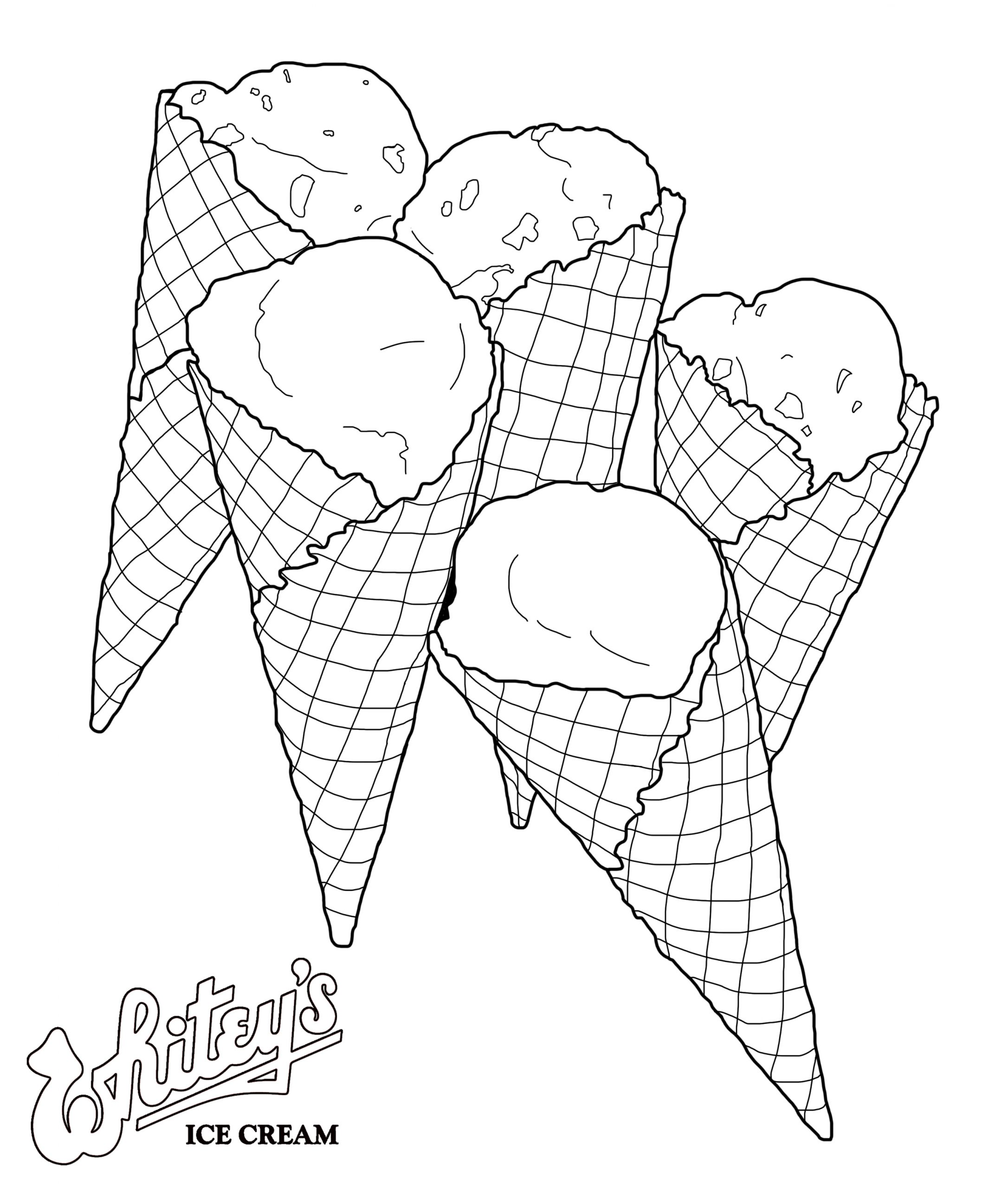 Whitey's Ice Cream Cones