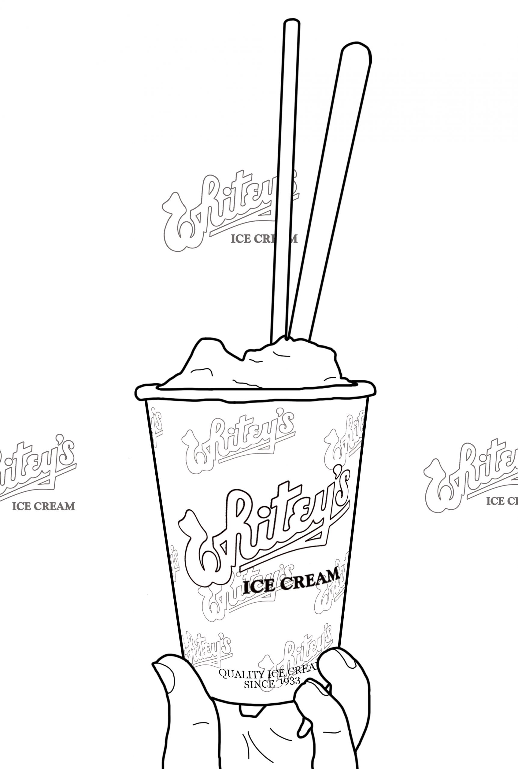 Whitey's Ice Cream Shake