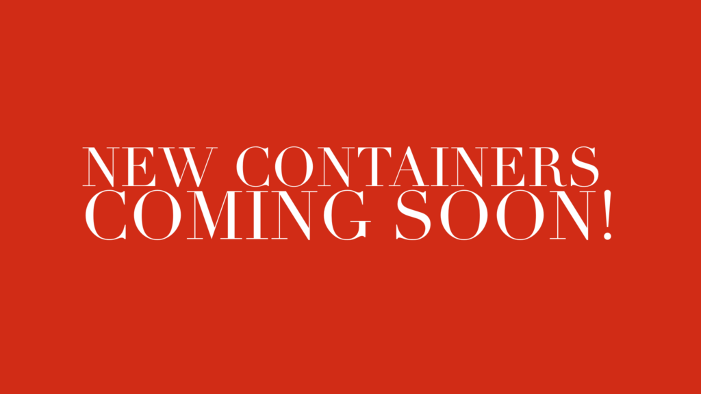 new containers