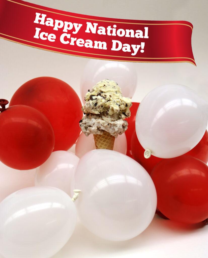 National Ice Cream Day 2